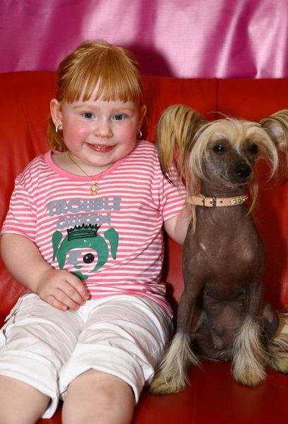 Malé princezné sa fotili so Chantallkou....